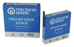 Precision Brand 19215 Feeler Gauge high Carbon Steel 0 0030 In