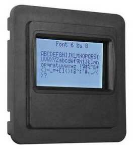 Storm Interface 5100 0105 Character Display lcd ip65 usb