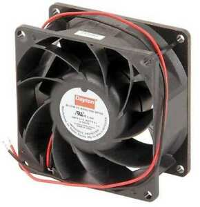 Dayton 2rth4 Axial Fan Square 12vdc Phase 84 1 Cfm 3 1 8 W