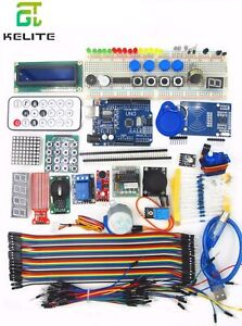 Ultimate Starter Kit For Arduino Include Uno R3 Breadboard Project