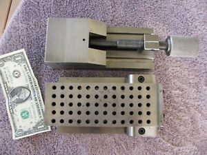 3 1 4 Capacity Toolmaker Vise 2 1 2 By 6 5 8 Sine Plate Machinist Tool