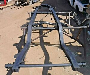 1953 Mg Td Chassis Frame nice Clean Shape rustfree prepped painted pedals master