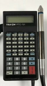 Telxon Ptc 701 Scanner Model 86 5393 64kn w Cables tested used usa