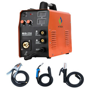 Hitbox Mig250 Mma Lift Tig Mig Welding Machine Torch Maggas Gasless Stick 3 In 1