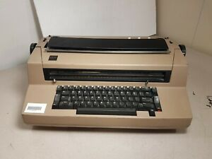 Vintage Ibm Correcting Selectric Iii 67ox Typewriter Used Power Tested Only
