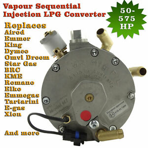 Sequential Vapour Injection Lpg Converter High Power 575 Hp