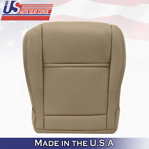 1990 1997 Front Driver Bottom Tan Leather Seat Cover Fits Toyota Land Cruiser
