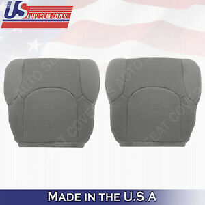 For Front Driver Or Passenger Lower Seat Covers Gray Cloth Fits Nissan Frontier