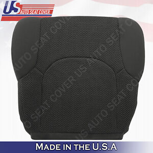 Fits 2005 To 2019 Nissan Frontier Front Lower Bottom Cloth Seat Cover Dark Gray