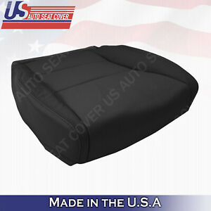 Fits 2007 2012 Acura Rdx Driver Bottom Perforated Leather Seat Cover In Black