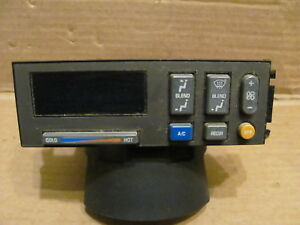 1988 94 Chevy Gmc Truck A c Heater Climate Control Panel W recir Button