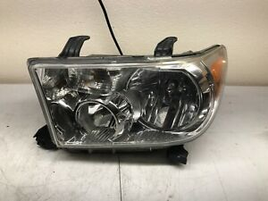 Headlight Assembly For 2007 2013 Toyota Tundra 08 17 Sequoia Lh Driver Oem