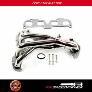 Racing Header Manifold Exhaust For Altima 2 5 4cyl Qr25de Stainless 2004 2005