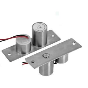Mini Electric Bolt Lock Dc12v Solenoid Electric Door Lock0 12a Concealed Install