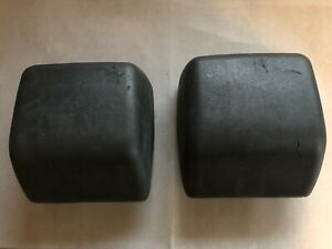 Used Pair Oem 98 06 Jeep Tj Wrangler Bumper Scuff Guard 52000240ab Factory Parts