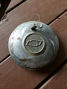1933 33 1934 34 Chevrolet Chevy Standard Accessory Locking Hubcap With Key