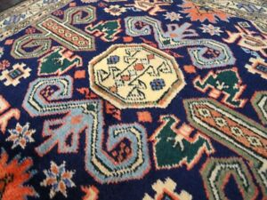 Perpedil 1930 Vintage Armenian Antique Exquisite Hand Made Rug 2 6 X 3 8