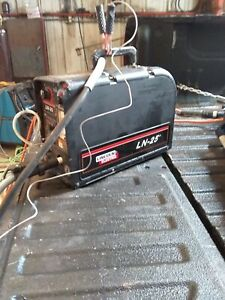 Lincoln Ln 25 Pro Wire Feeder Excellent Working Condition Wip Included