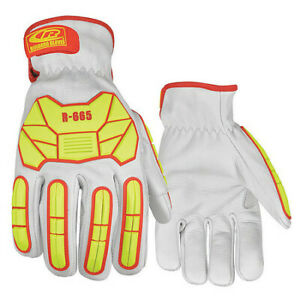 Ringers Gloves 665 09 Leather Gloves impact Cut 5 m pr