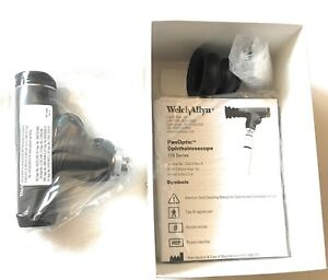 Welch Allyn Panoptic Ophthalmoscope Head 3 5v Blue Filter Corneal Lens 11820 ce