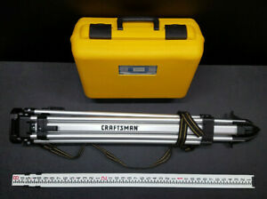 Craftsman cst berger laser Plumb 22x Heavy Duty Transit level Outfit