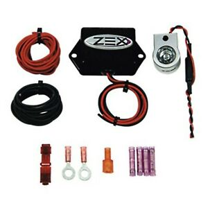 Zex 82370b Rapid Fire Nitrous Oxide Purge Kit Incl Machine Gun Module led Light