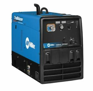 Miller Trailblazer 325 Diesel Welder W Gfci Excel Power 907755002