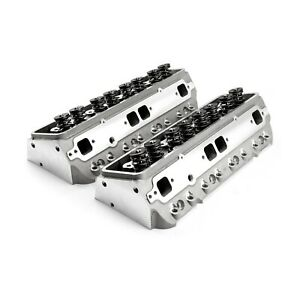Cylinder Heads Chevy 350 Small Block 205cc Aluminum Assembled New