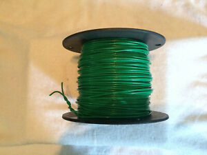 Tffn 500 Ft Green 18 Awg Strand Fixture Wire