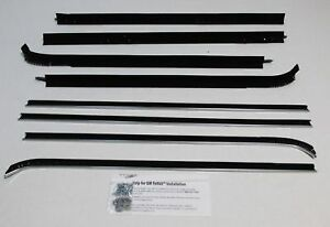 1971 1976 Chevy Impala 4 Door Sport Sedan Authentic 8 Piece Felt Kit Cp229a