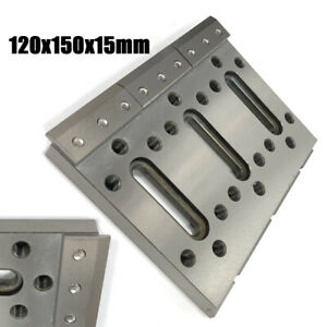 1pc Wire Edm Fixture Board Stainless Jig Tool F Clamping And Leveling 120x50x15