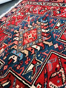 Stunning C 1930 Vintage Antique Exquisite Hand Made Rug 2 9 X 12 10