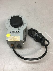 New Staco 3pn1010b Variable Autotransformer In 120v 50 60 Hz Out 0 140v 10a