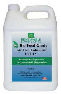 Renewable Lubricants 87463 Air Tool Lubricant Iso 32 1 Gal H1