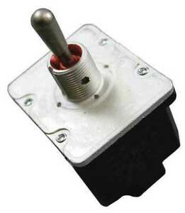 Honeywell 4nt1 7 Toggle Switch on off on 4pdt 10a 277v Screw Terminals