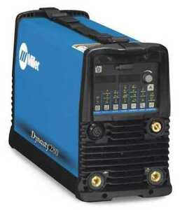 Miller Electric 907551 Tig Welder Dynasty 280 Dx Series 208 To 575vac
