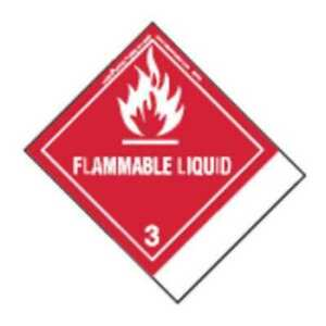 Labelmaster Snt6 Flammable Liquid Label 100mmx120mm 500