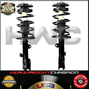 Front Quick Strut Spring Shock Pair For 2009 2013 Toyota Corolla Matrix Vibe