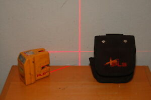 Pls 180 Laser Level Red Beams Pacific Laser System W Case