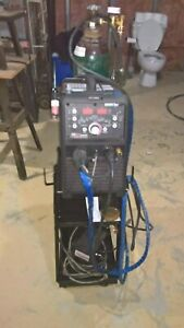 Thermal Arc 186 Acdc Inverter 200 Amp Tig Welder Cart Gas Bottle Not Included