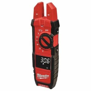Milwaukee 2206 20 Digital Clamp Meter 200a 40 Mohms
