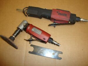 Matco Tools Silver Eagle Se355 Right Angle Die Grinder Se1350 Air Saw