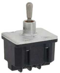 Honeywell 4tl1 7 Toggle Switch on off on 4pdt 10a 277v Screw Terminals