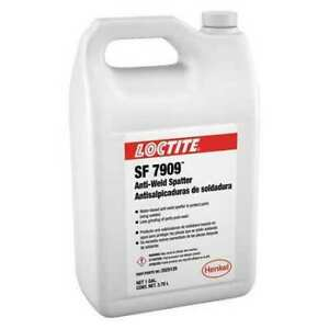 Loctite 2025120 Anti spatter clear bottle 1 Gal Loctite Sf 7909