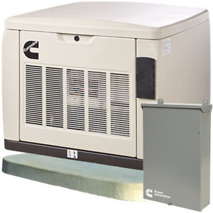 Cummins Rs20ac 20kw Quiet Connect trade Series Home Standby Generator Syst