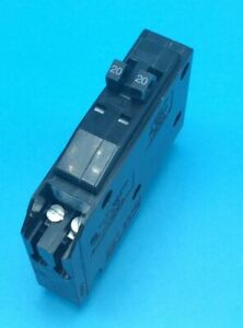 1 New Circuit Breaker Square D Qo2020 20 Amp 1 Pole Tandem Twin No Hook