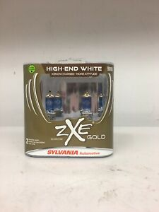 Sylvania Silverstar Zxe Gold 9006 High End White 2 Halogen Lamps New Ships Free