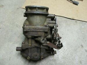 Holley Ford Script 94 Carburetor H Marked Manual Choke