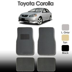 2000 2006 2007 2008 2009 For Toyota Corolla Floor Mats