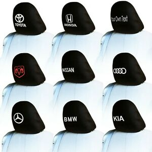 For Mercedes New Customized Personalized Car Truck Suv Seat Headrest Cover